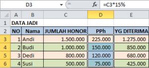 Merubah Text atau Angka di Excel