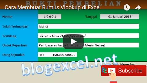 Video Tutorial Excel