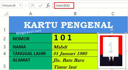 Cara Membuat Rumus Foto di Excel