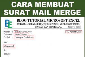 Surat Mail Merge